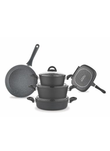Rock Chef 9 Parça Tencere Set-Schafer